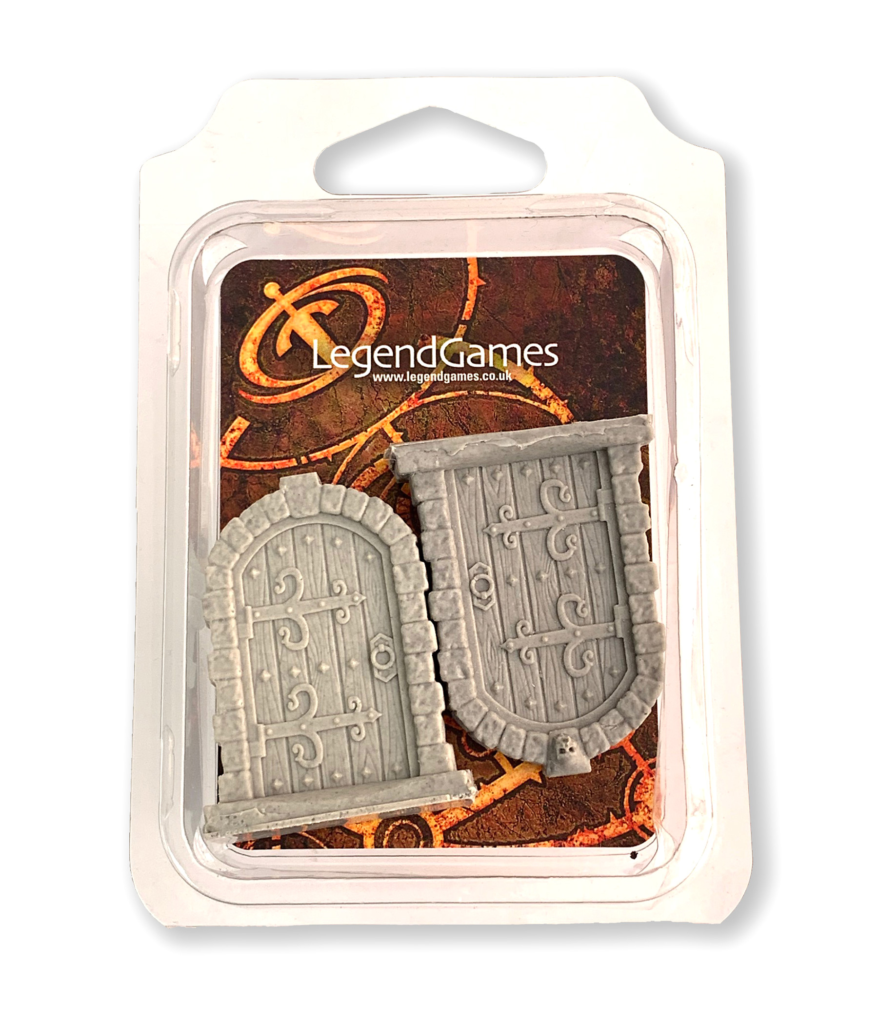 LegendGames Resin Dungeon Doors - Series One set of 2 doors