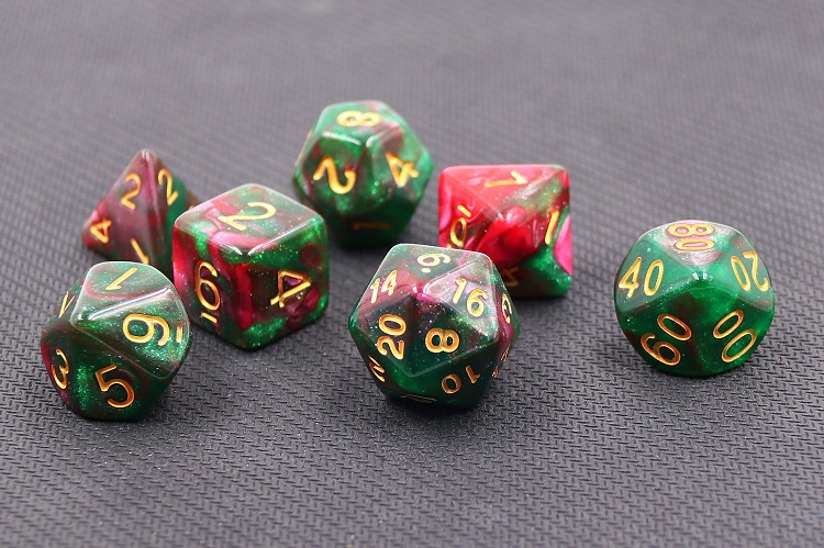 HD Dice Rose Way poly dice