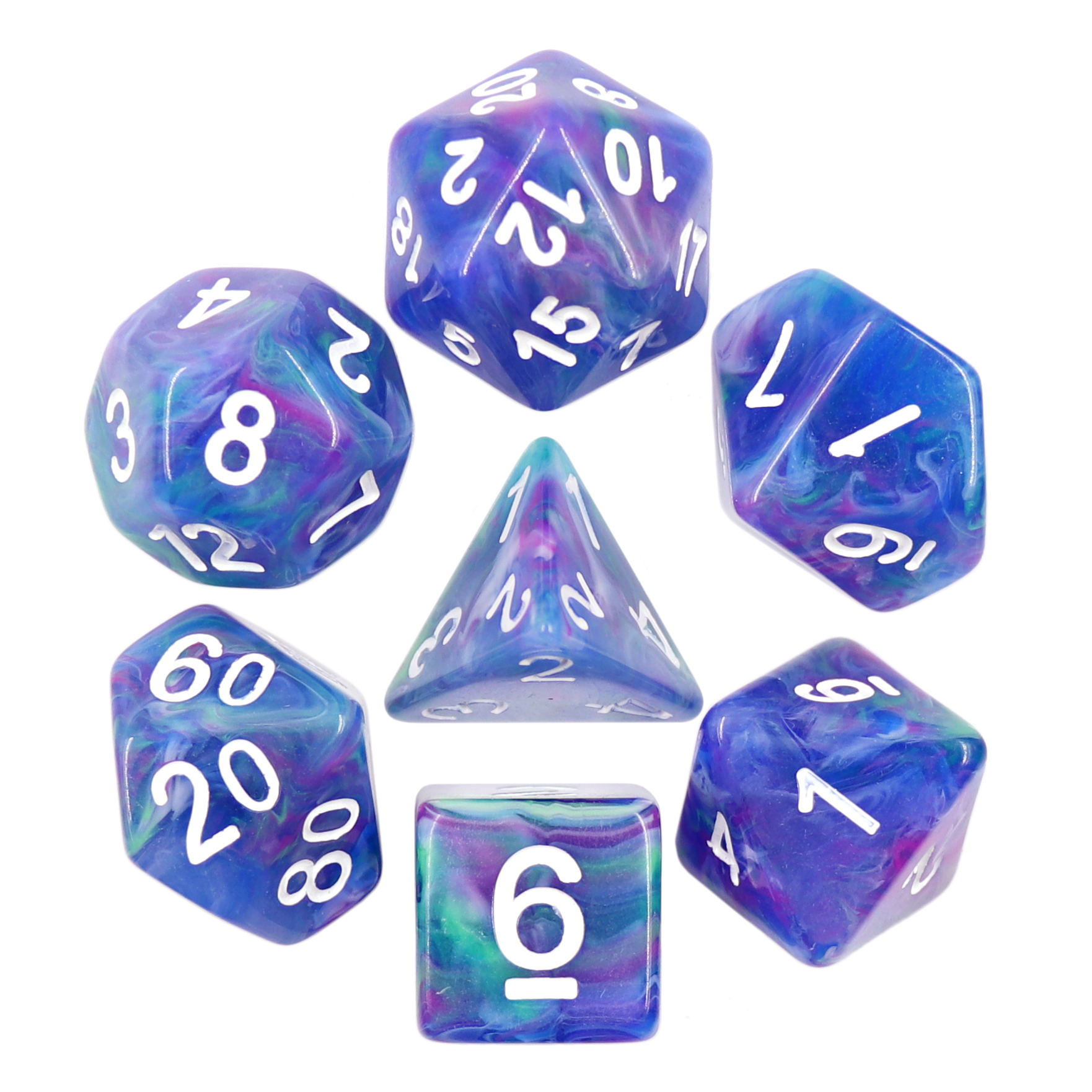 His Dark Materials transformed to Muse Northern Lights dice