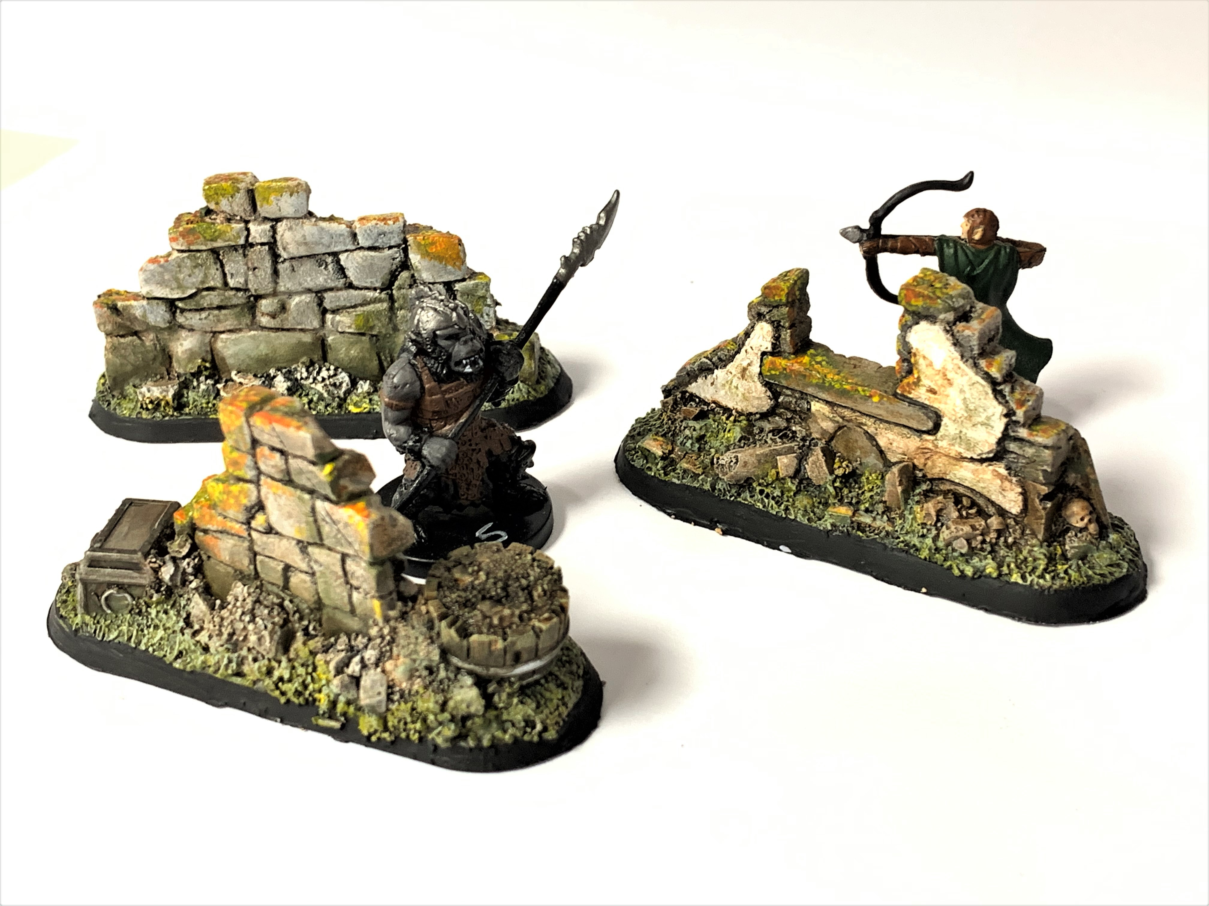 LegendGames Medium Ruins scatter terrain x3