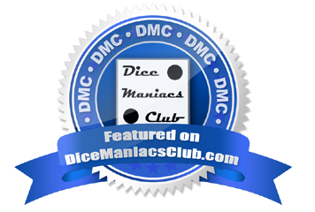 Featured on Dice Maniacs Club